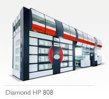 Diamond HP 808 Flexo Printing Press