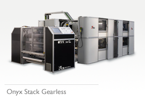 Onyx Stack Gearless Flexo Printing Press
