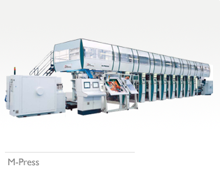 M-Press Gravure Printing Machine
